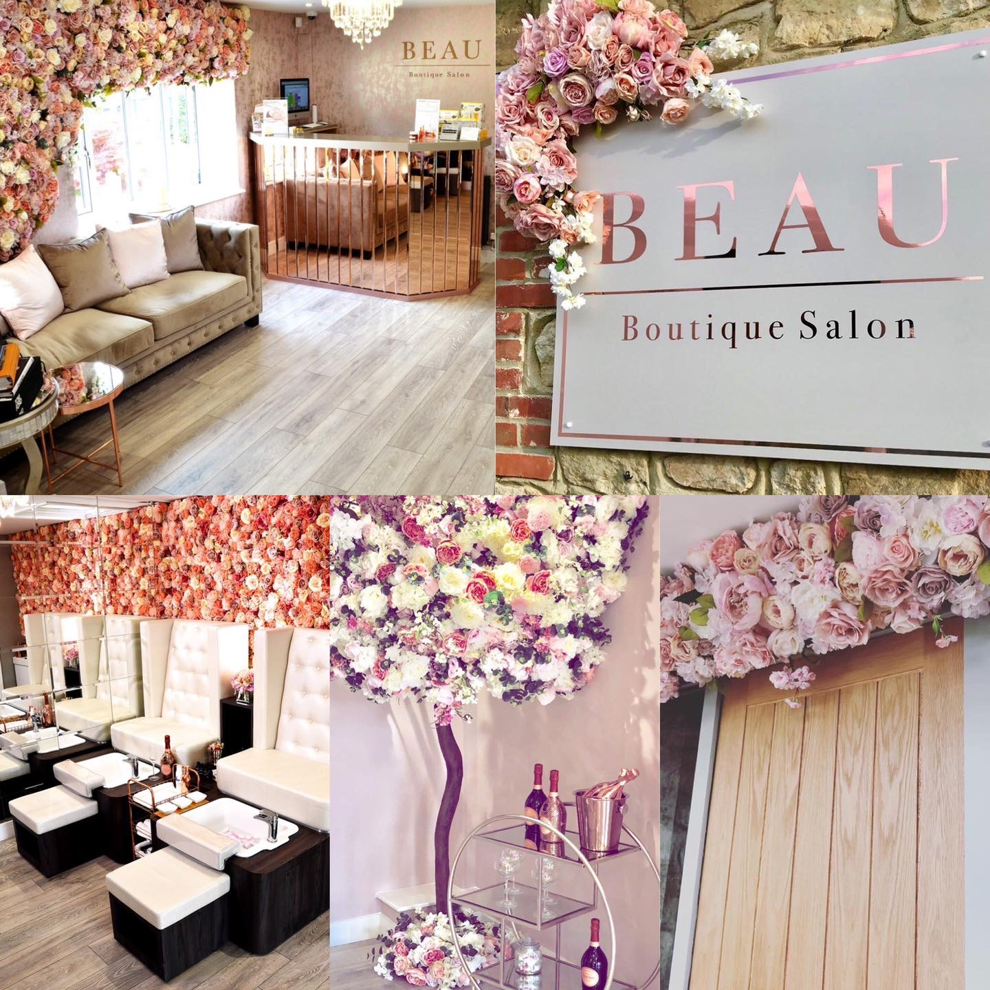 Beau Boutique Beauty Salon Montage