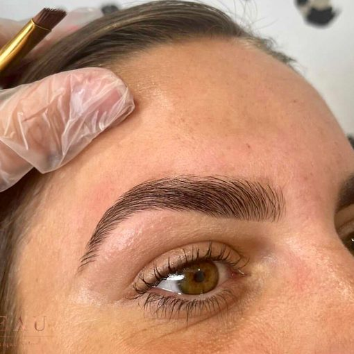 HD Brows in the Brow Bar at Beau Salon