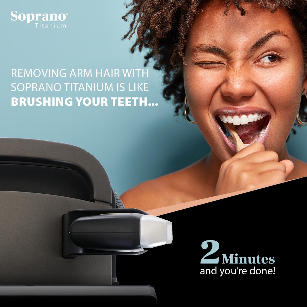 Best Laser Hair Removal Ashford Kent Soprano Titanium Alma 1