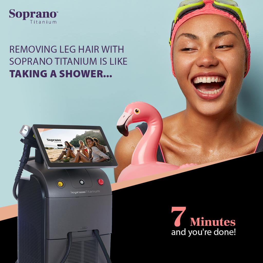 Best Laser Hair Removal Ashford Kent Soprano Titanium Alma 4